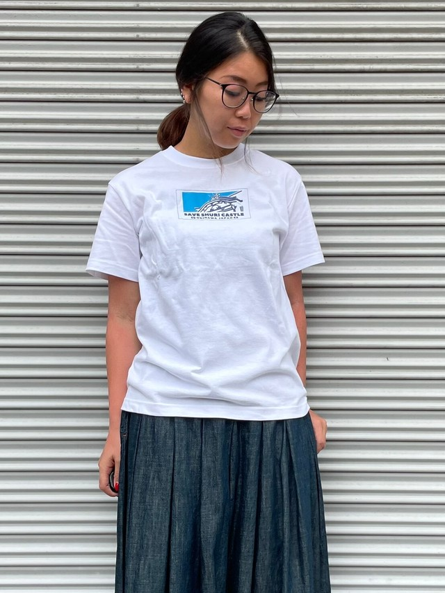 【ONEWASH】首里城Tシャツ