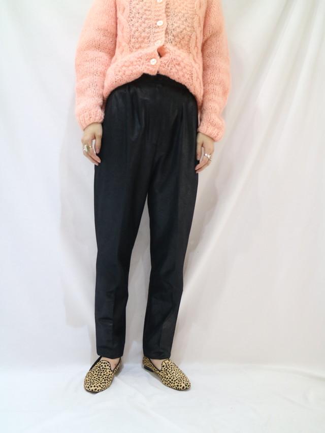 glossiness slacks pants【1040】