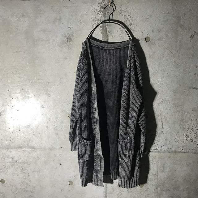 [used]thin grey mode cardigan
