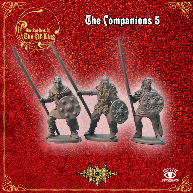 Companions 5 (3 figures pack)