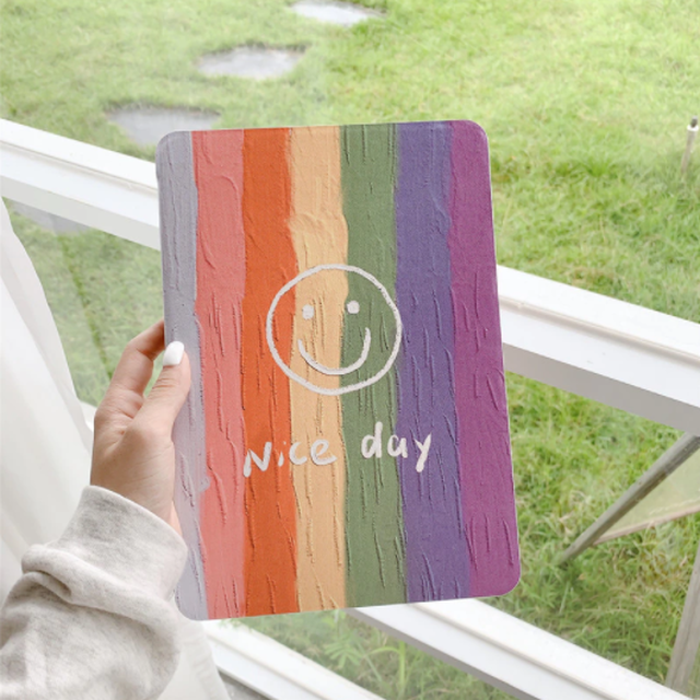 Nice day smile iPad case
