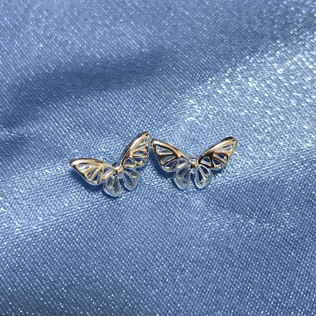 Butterfly Tiny Pierce(Silver 925)