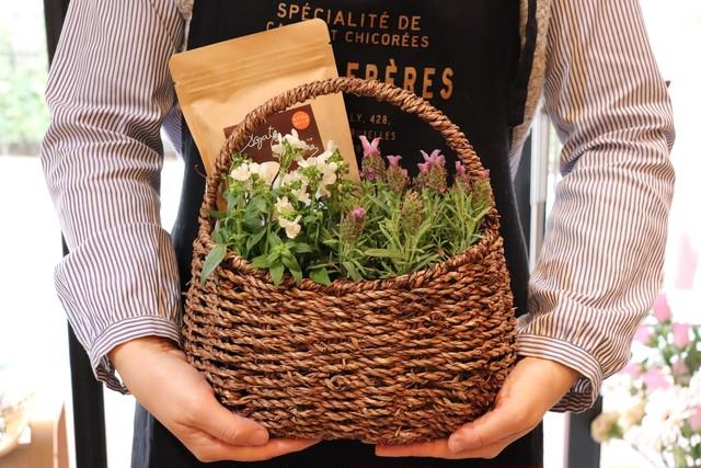 季節のお花とヘナカラーセット