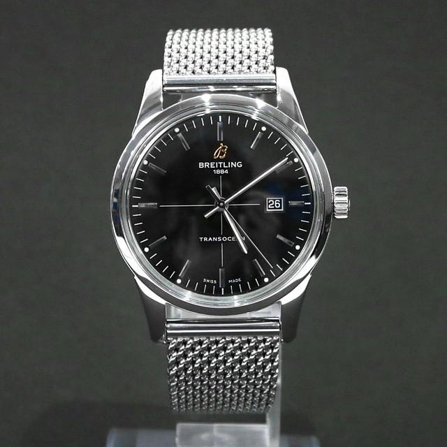 【美品】BREITLING / ブライトリング | トランスオーシャン A10360 腕時計 | ブラック | メンズ