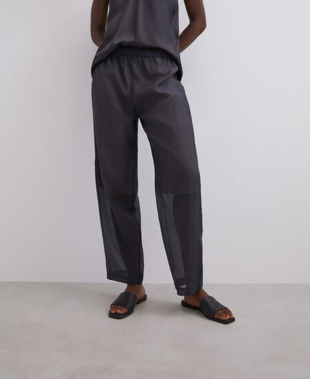 DOUBLE ORGANZA TROUSERS [269063067202]