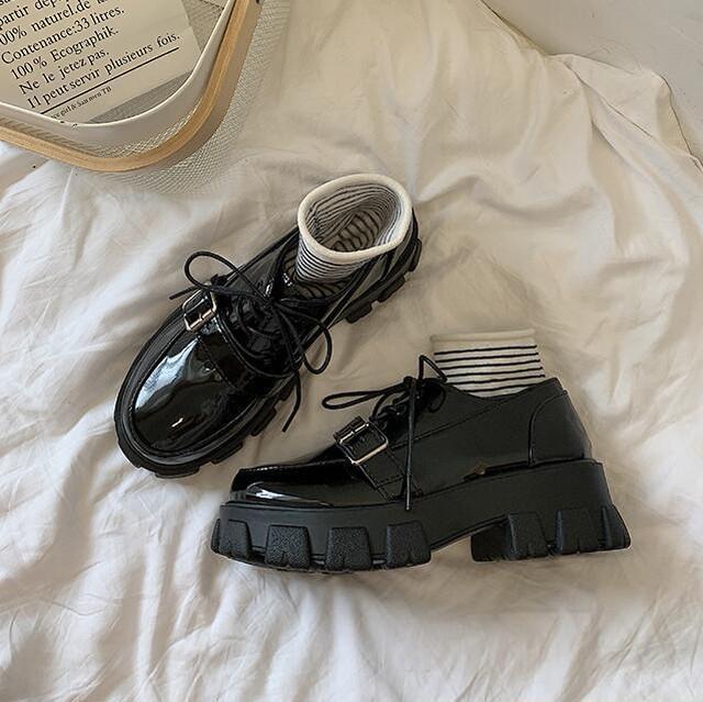 パンプス シューズ 厚底ダイヤ靴 2タイプ SHS581810