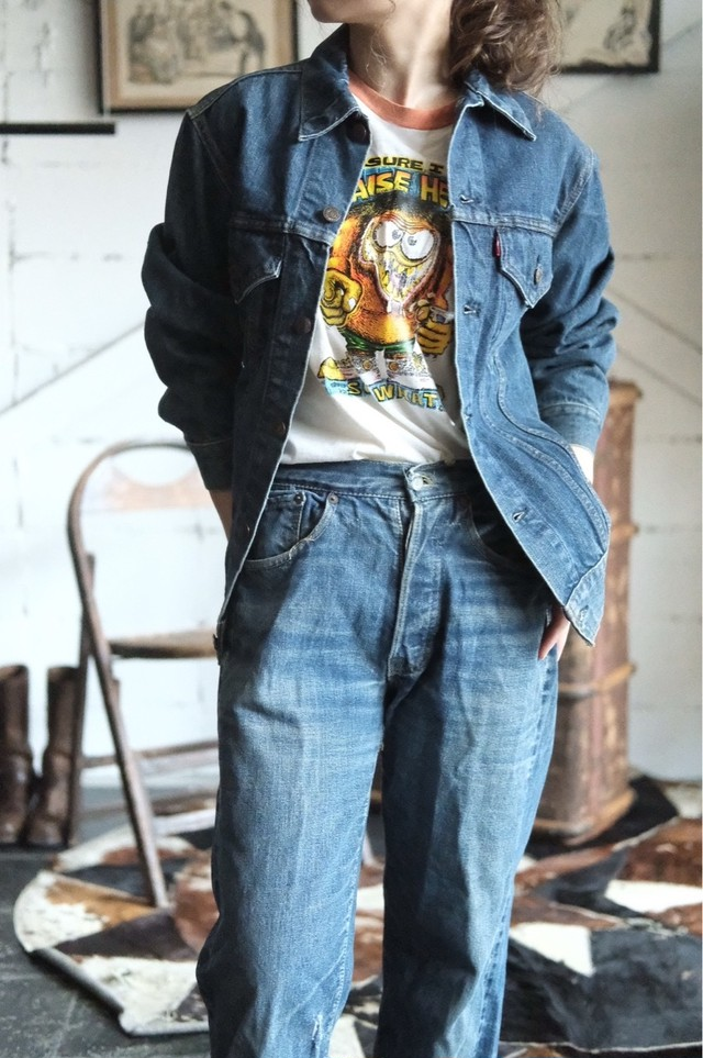 70s Levis 71205 denim jacket