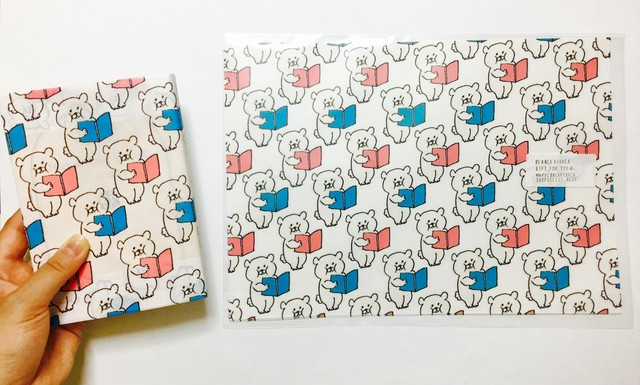 BB BEAR PAPER _ book set