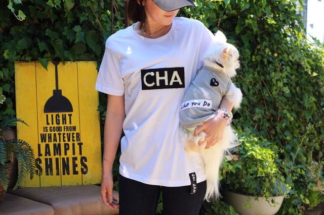 COCOLIO ビッグシルエットママTシャツ(白・黒)