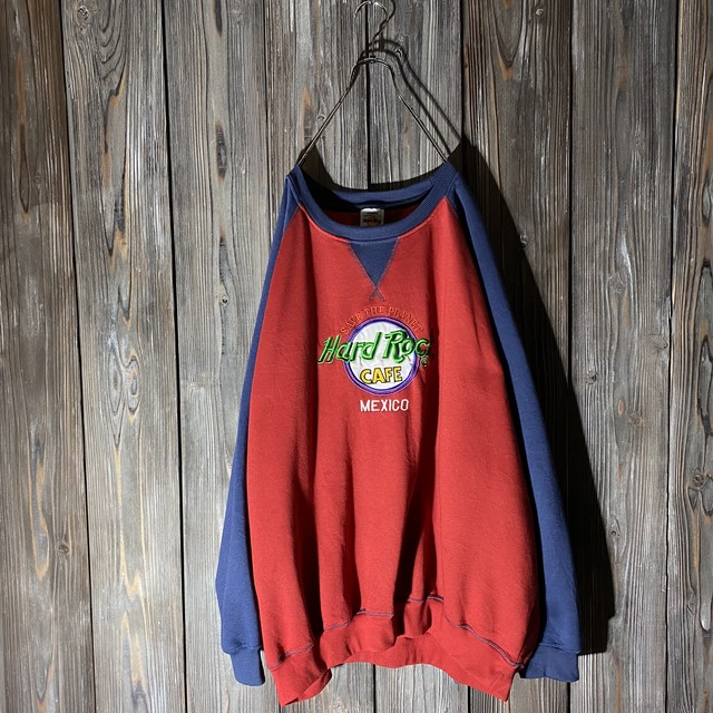 [Hard Rock Cafe]Mexico two colors sweat