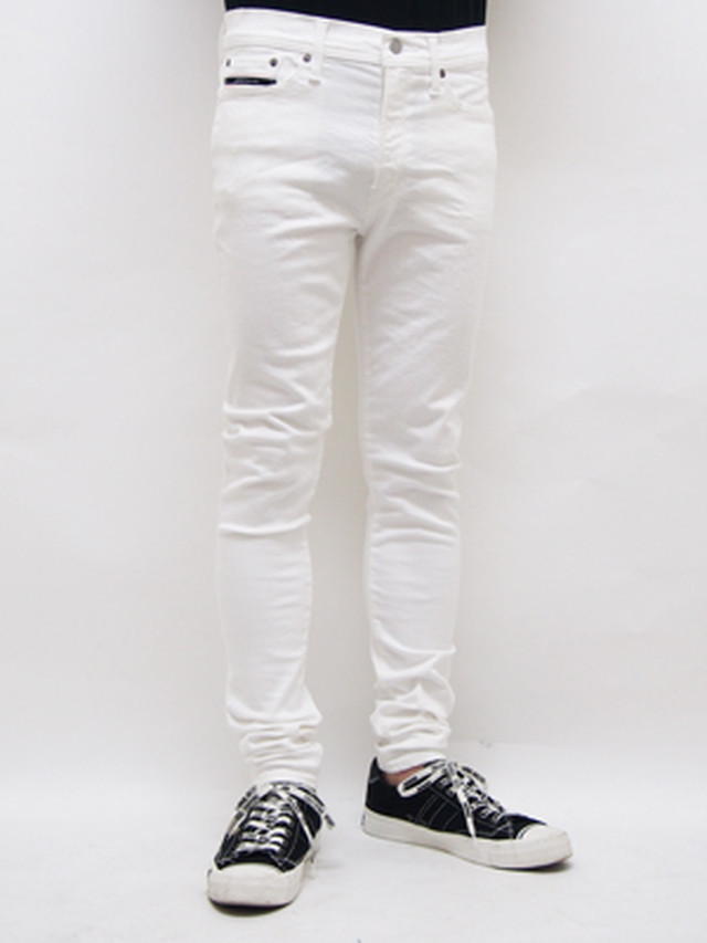 RESOUND CLOTHING (リサウンドクロージング) LOAD DENIM / WHITE   RC-SSK-004-1