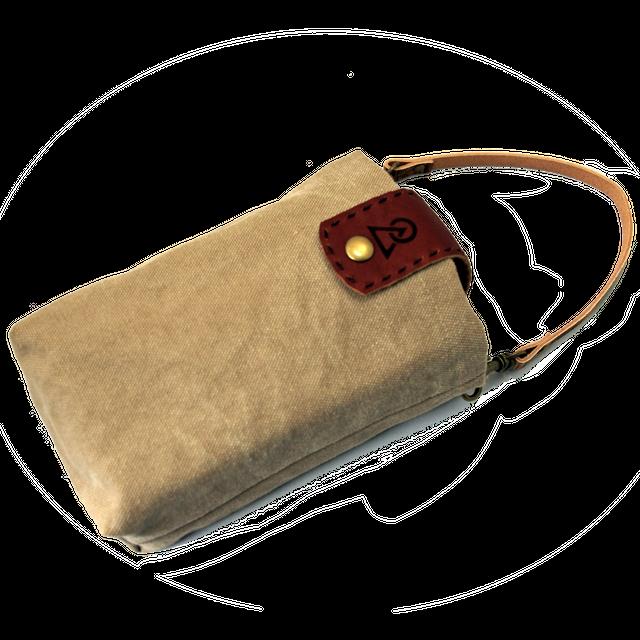 帆布製カラーバッグ(スリップメスティン_レギュラーサイズ用)