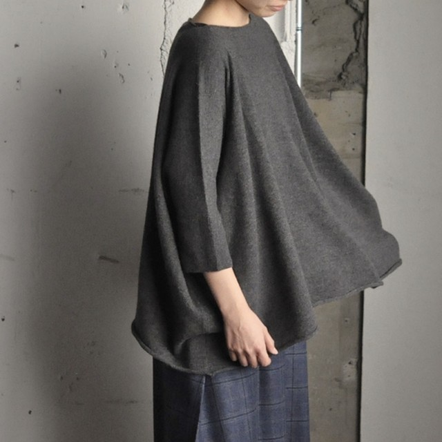 RIVIERE CASHMERE cashmere sweater-Grey-