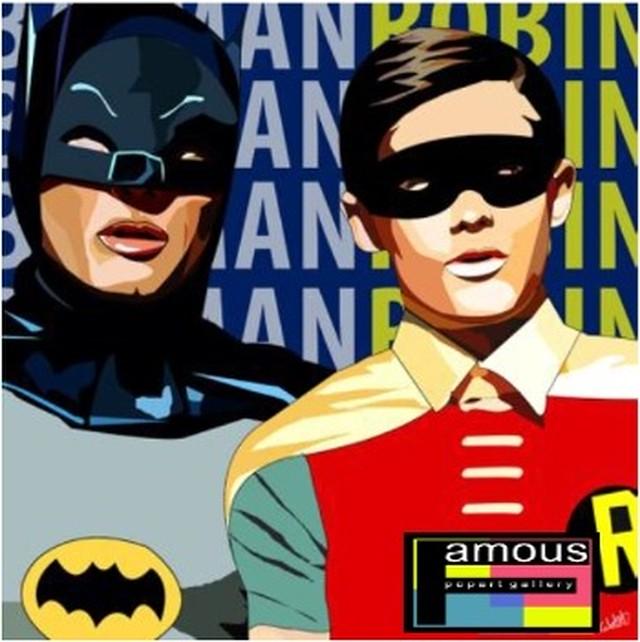 【バットマン & ロビン】Mサイズ 26cm [PAPDC_0002] BATMAN & ROBIN : DK.BLUE