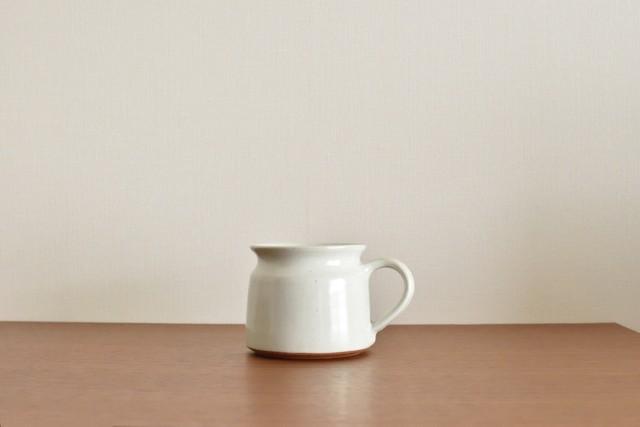 インド マグカップ ホワイト(L)