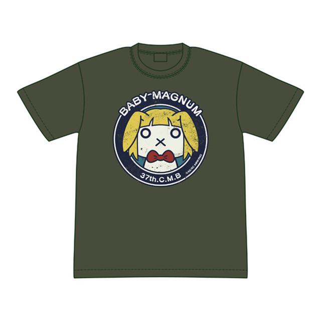 ヘヴィーオブジェクト 第37機動整備大隊マスコットマーク(Aged)Tシャツ