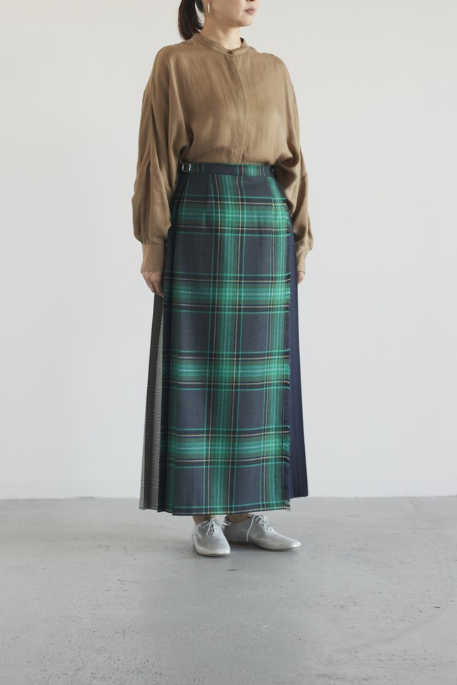 O'Neil of Dublin 3 colours combination skirt