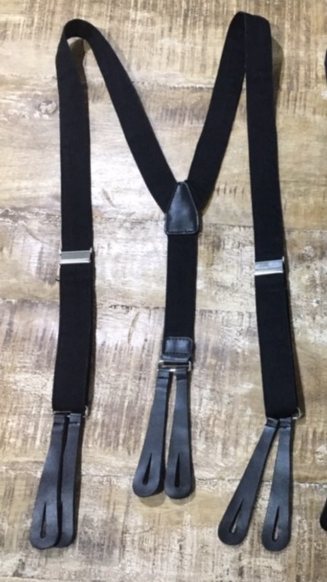 SAILOR'S SUSPENDER  <BLACK>