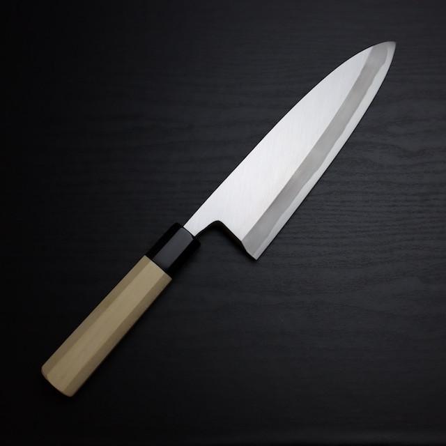 150mm 出刃 白二鋼 本霞