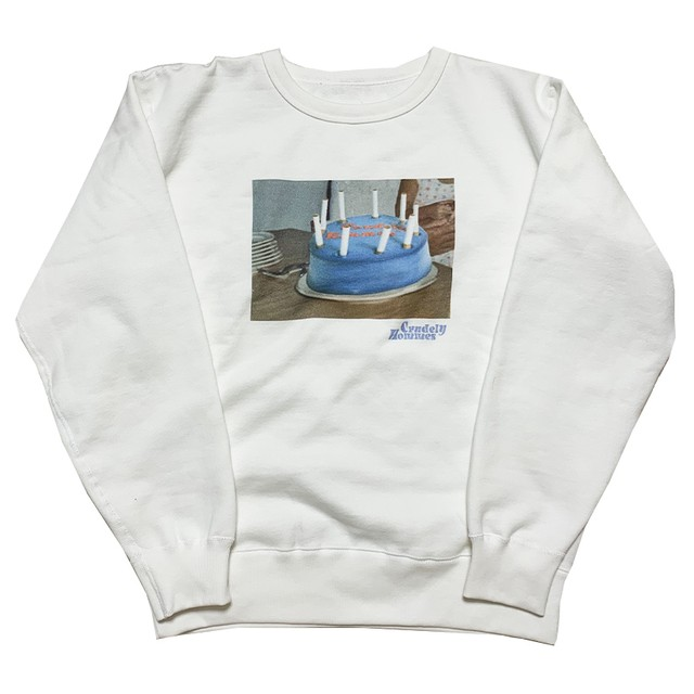 【Crudely Hommes】Baby with Cake Heavy Weight Sweat Tops