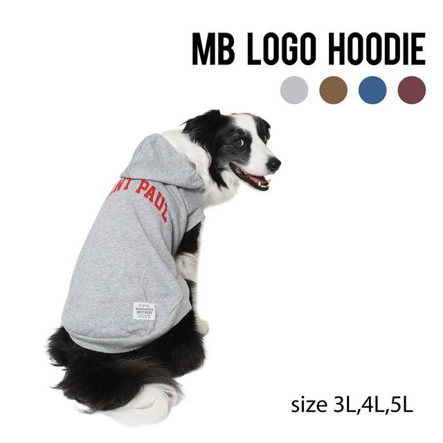 MB LOGO HOODIE(3L,4L,5L) MBロゴフーディ