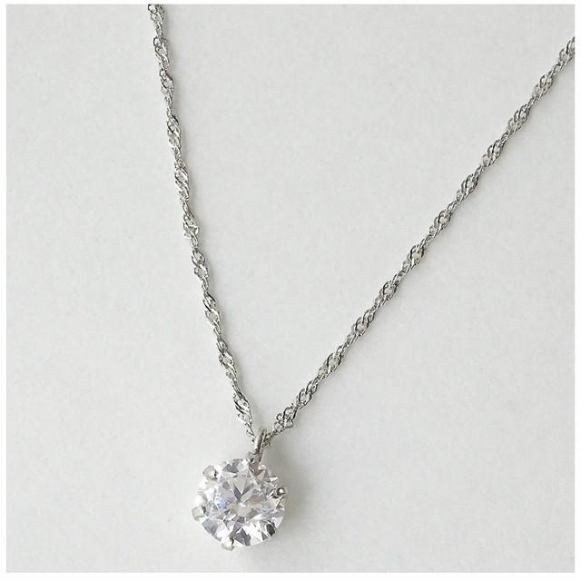 ❤︎天然ダイヤモンド 0.5カラット 一粒デザインペンダント ネックレス❤︎