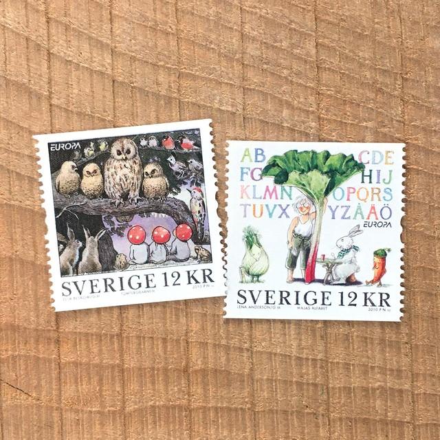 切手(未使用)「2010年版 EUROPA切手 - 2種セット(2010)」