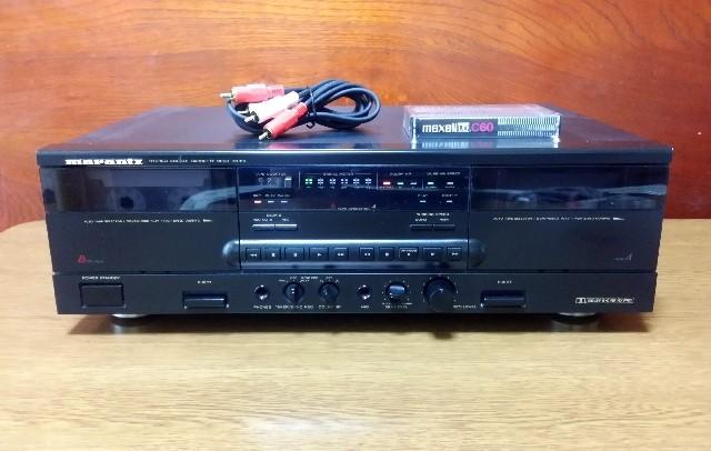 オートリバース ダブルカセットテープデッキ maranz SD-315 録音良好・完動品