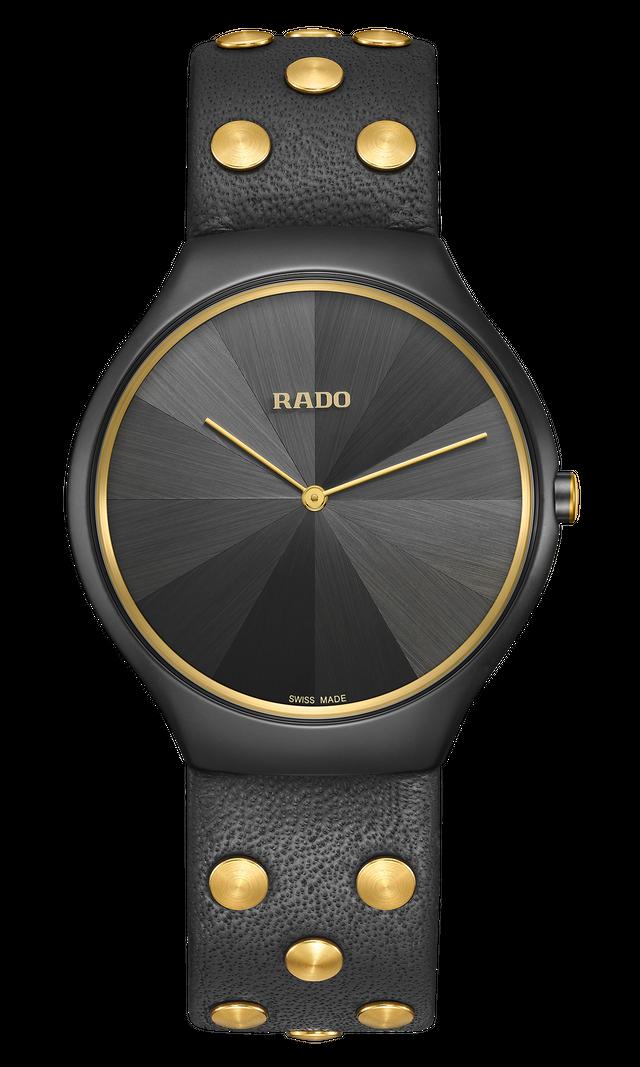 【RADO ラドー】True Thinline Studs シンライン スタッズ 1001本限定品 / スイスメイド腕時計