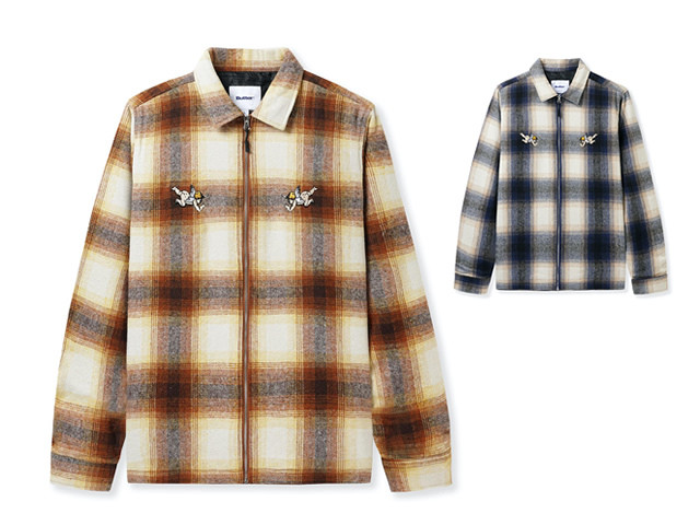 BUTTERGOODS|ANGELS HEAVYWEIGHT PLAID OVER SHIRTS