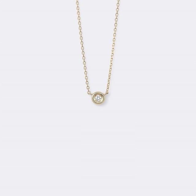 Lacrima Necklace K18YG(ラクリマネックレス K18イエローゴールド)