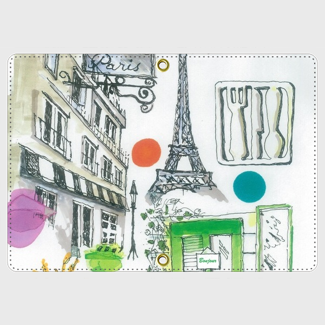 TOUB LIVING オリジナルパスポートケース パリ