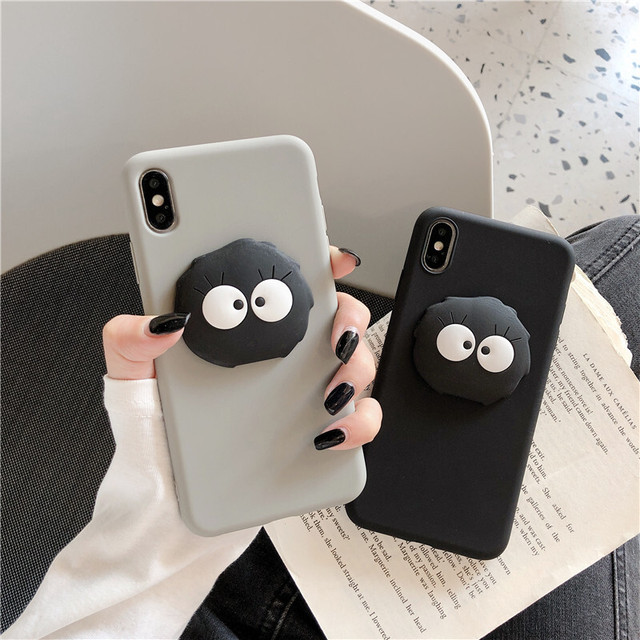 Black ghost iphone case