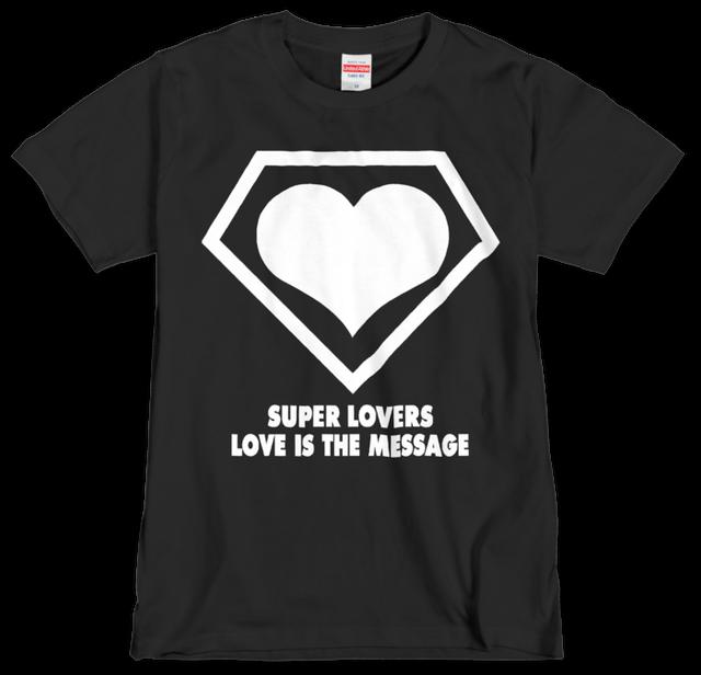 SUPERLOVERS 90s logo/スーパーラヴァーズTシャツ