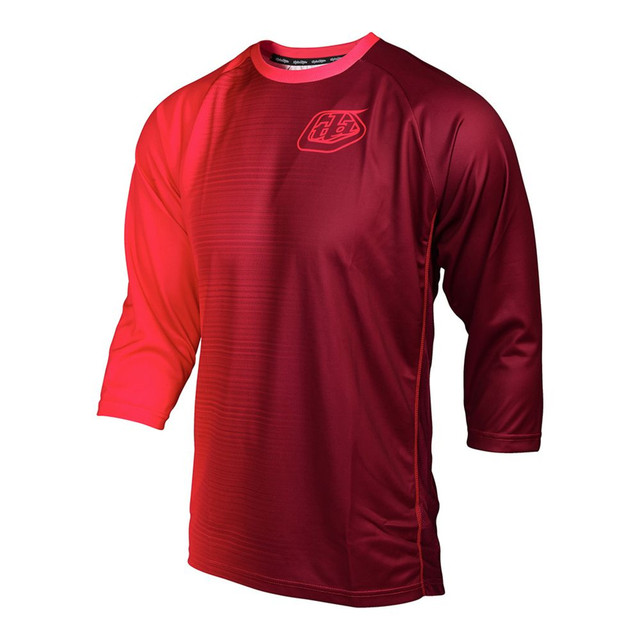 Troy Lee Designs  RUCKUS JERSEY 50/50 RED サイズM