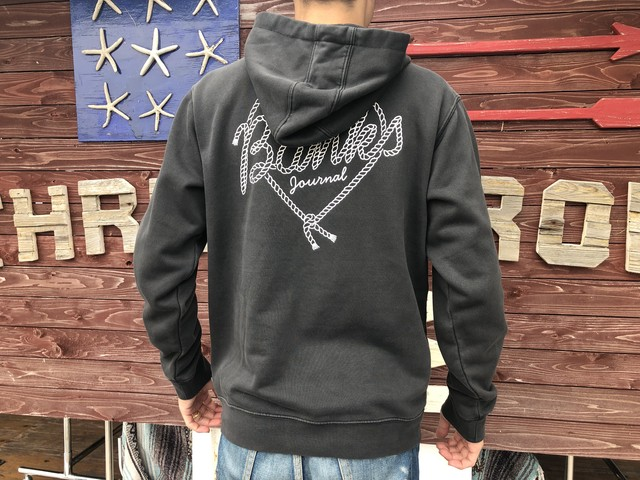 【BANKS】 DOPE ROPE FLEECE (dirty black)