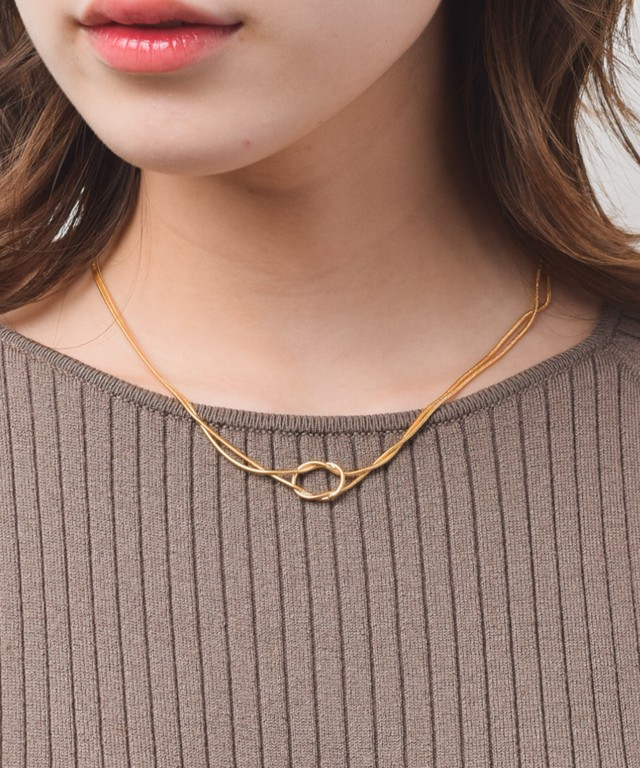 Double Twist Necklace