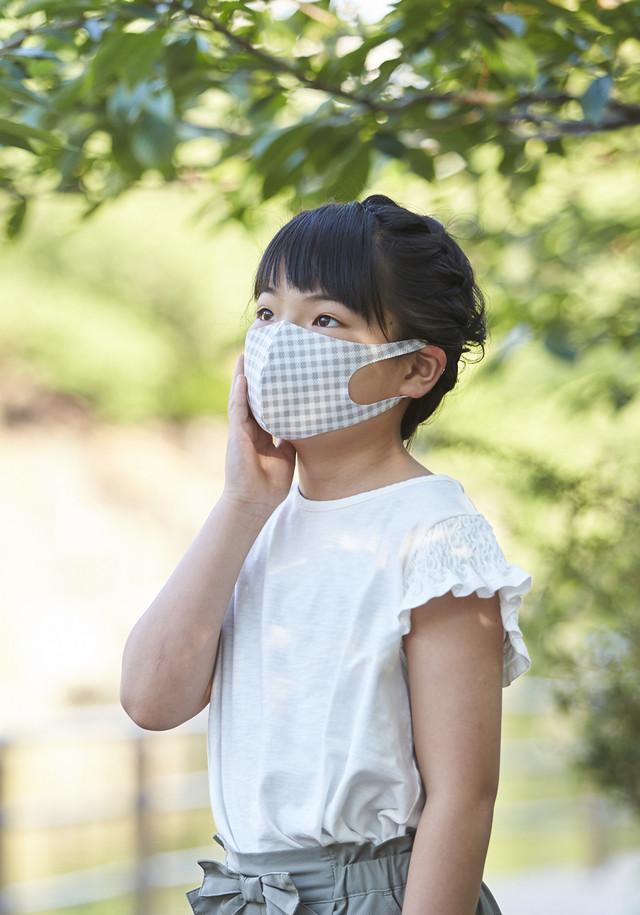 夏用マスク クールピッタ新柄 SSサイズ 2枚セット  接触冷感・UVカット・吸汗速乾  #113