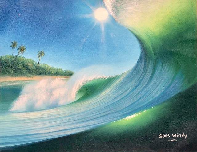 Dreamland Wave Art F6