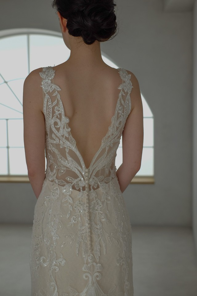 Wedding Dress /rental/Slender /DR2003