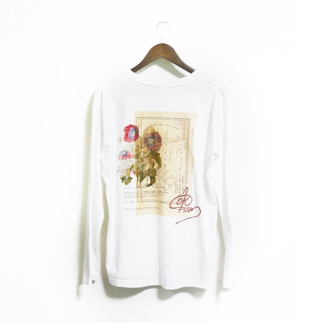 [ skpism™] Europe bouquet LONG-T - Ivory -