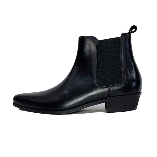 【3月入荷予定】Original John | CHELSEA HEEL BOOTS - LEATHER [FW1075]