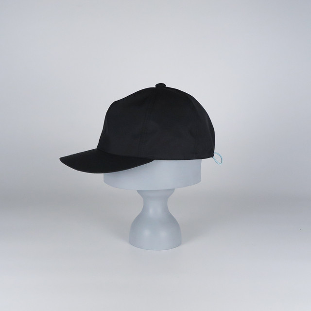 AW20-BD-8 Wool Felt Over Silhouette Hat - BLK/MAG
