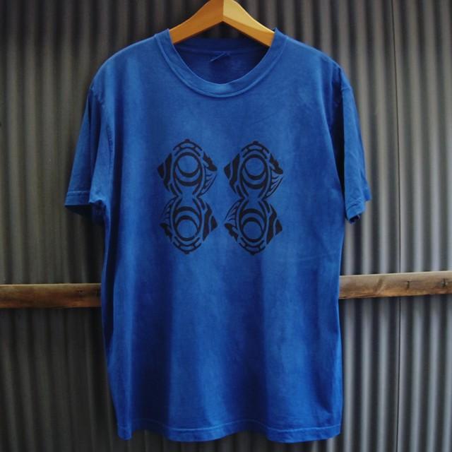 "TKHOME FACTORY ""ORIGINAL LOGO"" 後染め Organic Cotton T-shirt L"