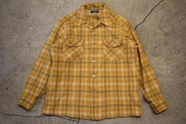 USED 50s Pendleton Board Shirt -Large S0717