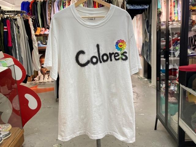 J.BALVIN × TAKASHI MURAKAMI COLORES TEE WHITE XL 30KE5856