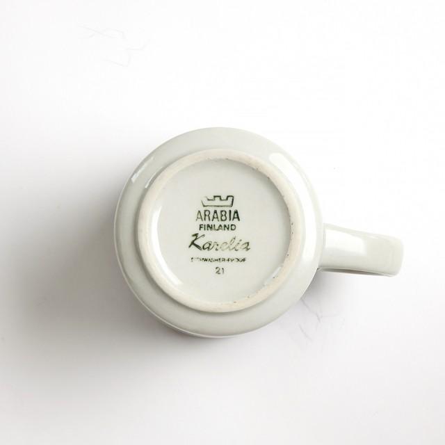 ARABIA アラビア Karelia カレリア マグカップ - 2 北欧ヴィンテージ