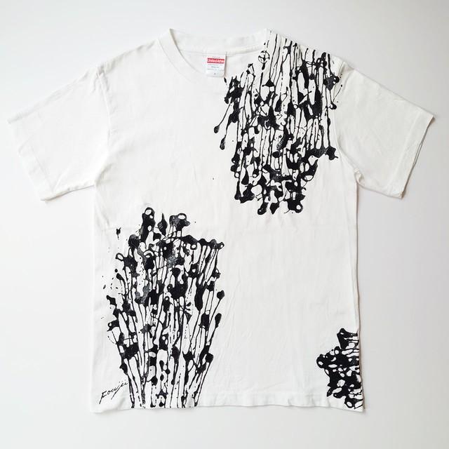 F's line【 藤井清秀  Tシャツアート】えのき S