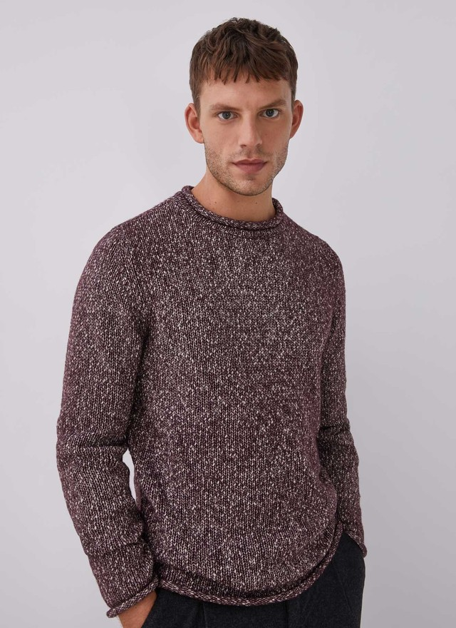 COTTON BREND MELANGE SWEATER