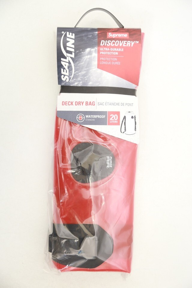 Supreme SEALLINE DISCOVERY DRY BAG 20L RED 5584